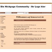 Nickpage Community System