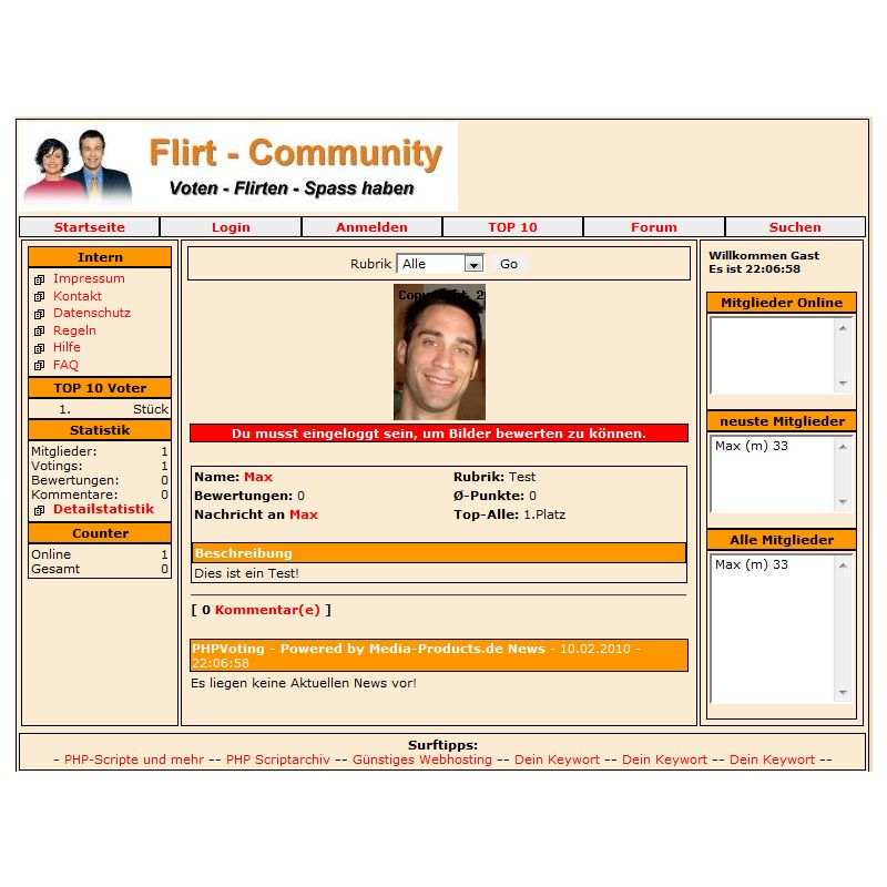 Flirt Voting Power Script 2.5