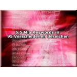 5,5 Mio. Keywords in 95 Bereichen