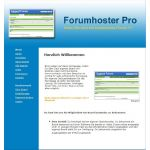 Forum Hoster Pro System