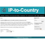 IP to Country System